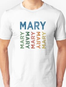 Mary Cute Colorful T-Shirt