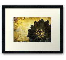A Golden Heart Framed Print