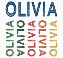 Olivia Cute Colorful by Wordy Type
