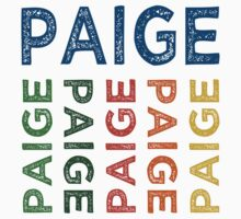 Paige Cute Colorful by Wordy Type