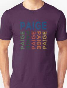 Paige Cute Colorful Unisex T-Shirt