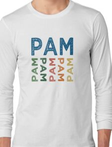 Pam Cute Colorful Long Sleeve T-Shirt