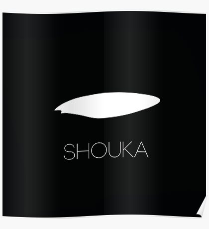 Shouka Orca Eyepatch Poster