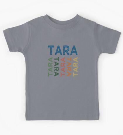 Tara Cute Colorful Kids Tee