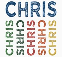Chris Cute Colorful by Wordy Type