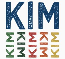 Kim Cute Colorful by Wordy Type