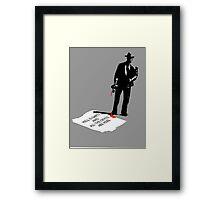 make my day... Framed Print