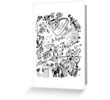 Wendoodle 10 Greeting Card
