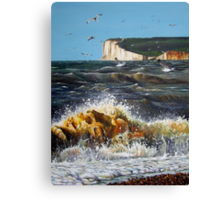 Sussex Sea Canvas Print