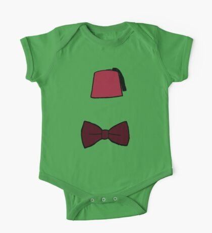Fezzes/Bowties are Cool One Piece - Short Sleeve