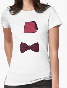 Fezzes/Bowties are Cool Womens Fitted T-Shirt