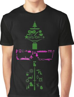 Olicity Collage New Version Graphic T-Shirt