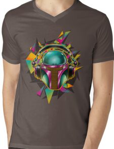 Boba's Phat Beatz Mens V-Neck T-Shirt