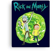 Rick and Morty season 1 Canvas Print