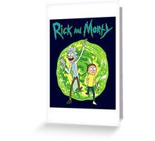 Rick and Morty season 1 Greeting Card
