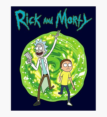 Rick and Morty season 1 Photographic Print