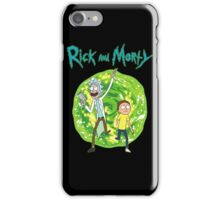 Rick and Morty season 1 iPhone Case/Skin