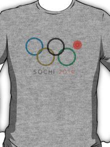 Sochi Ring Fail — 2014 Winter Olympics T-Shirt