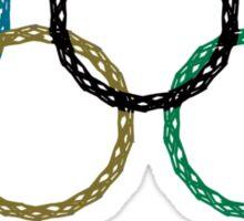 Sochi Ring Fail — 2014 Winter Olympics Sticker
