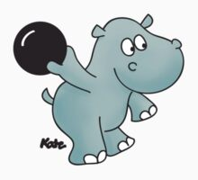 Bowling Hippo by katelein