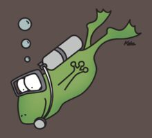 Diving Frog Kids Clothes