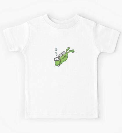 Diving Frog Kids Tee