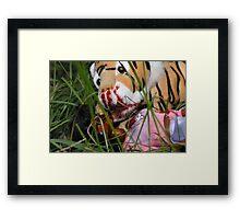 """Bad Bambi Series, #3 """"Bad Bambi on Safari""""  Framed Print"""