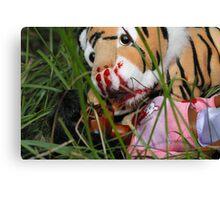 """Bad Bambi Series, #3 """"Bad Bambi on Safari""""  Canvas Print"""