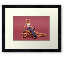 "Bad Bambi Series, #17 ""Self Portrait"" Framed Print"