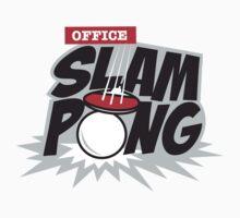 Office Slam Pong by DetourShirts