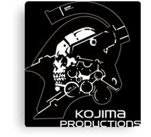 KOJIMA PRODUCTIONS - KNIGHT LOGO INDEPENDENT INDIE NEW Canvas Print