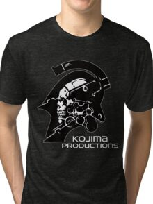 KOJIMA PRODUCTIONS - KNIGHT LOGO INDEPENDENT INDIE NEW Tri-blend T-Shirt