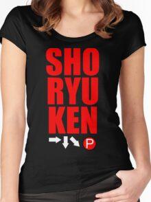 SHORYUKEN Women's Fitted Scoop T-Shirt