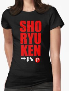 SHORYUKEN Womens Fitted T-Shirt