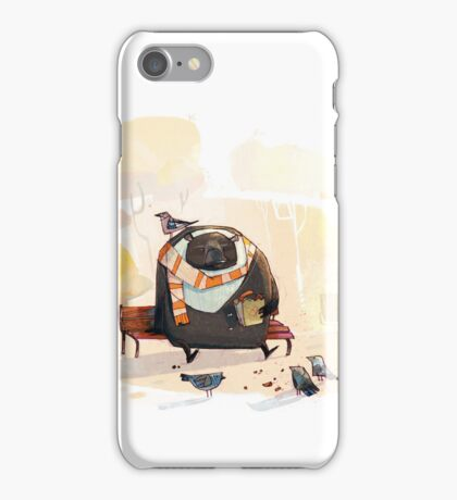 Old friends iPhone Case/Skin