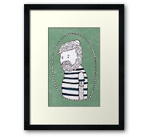 sad little sailor Framed Print