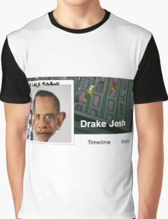 Drake Josh Graphic T-Shirt
