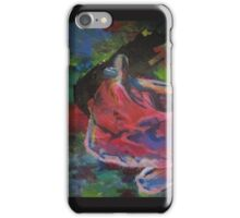 over Nude female figure contemporary fine art iPhone Case/Skin