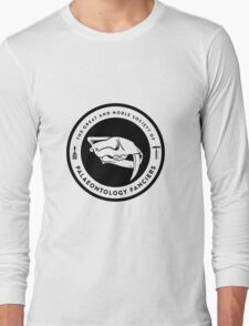 The Society of Palaeontology Fanciers (Black on Light) Long Sleeve T-Shirt