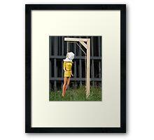 "Bad Bambi Series, #2 ""Just Hanging Around""  Framed Print"