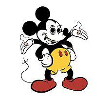 ...Mickey? Photographic Print