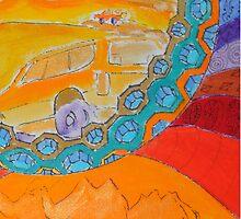 Surf Desert Off road Phone by annacanas