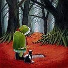 Cinnabar Path by vickymount