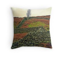 Wall to Wall Throw Pillow