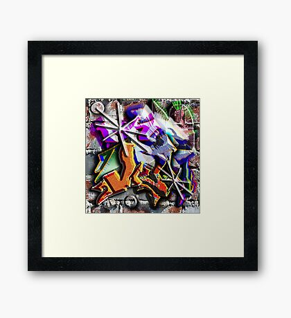JAZZ WAHL Framed Print