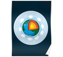 Earth Cake Poster