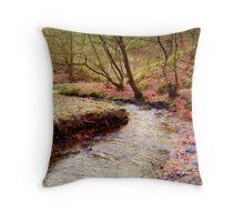 Colourful Autumn Throw Pillow