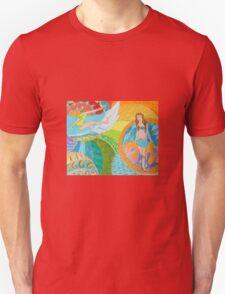 Surf Desert Off road Baseball Long sleeve Shirt design woodie Unisex T-Shirt