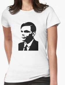 Che Turing Womens Fitted T-Shirt