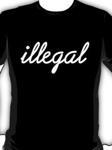 Illegal - White T-Shirt